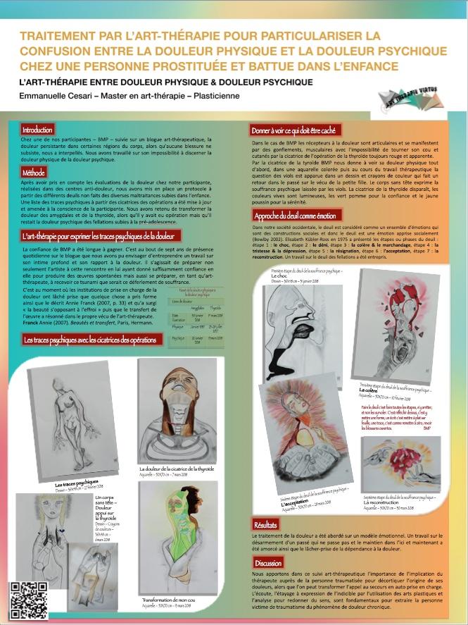 Poster EC La douleur psychique & physique