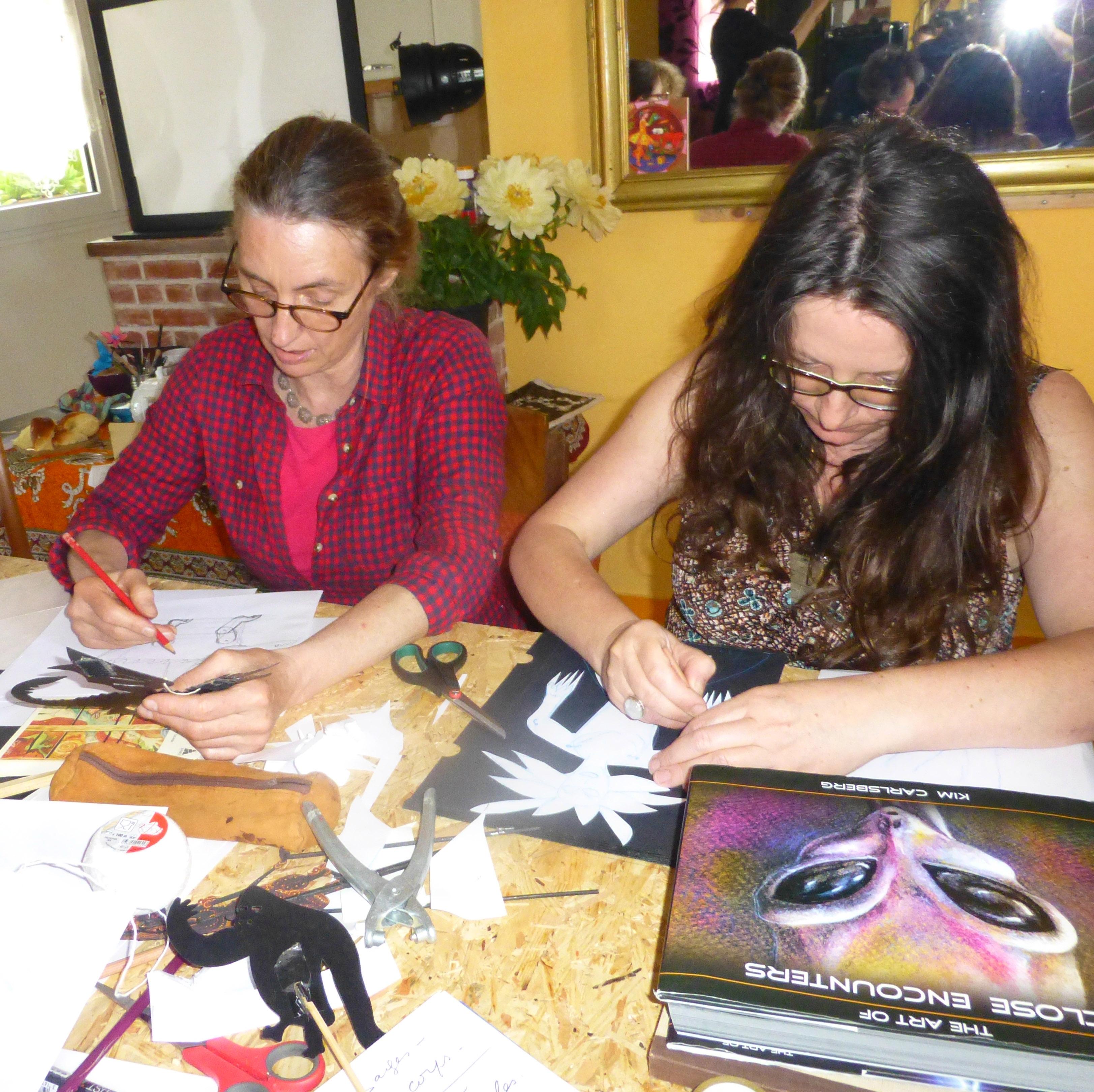 Atelier Madeleine et Serges Lions 1