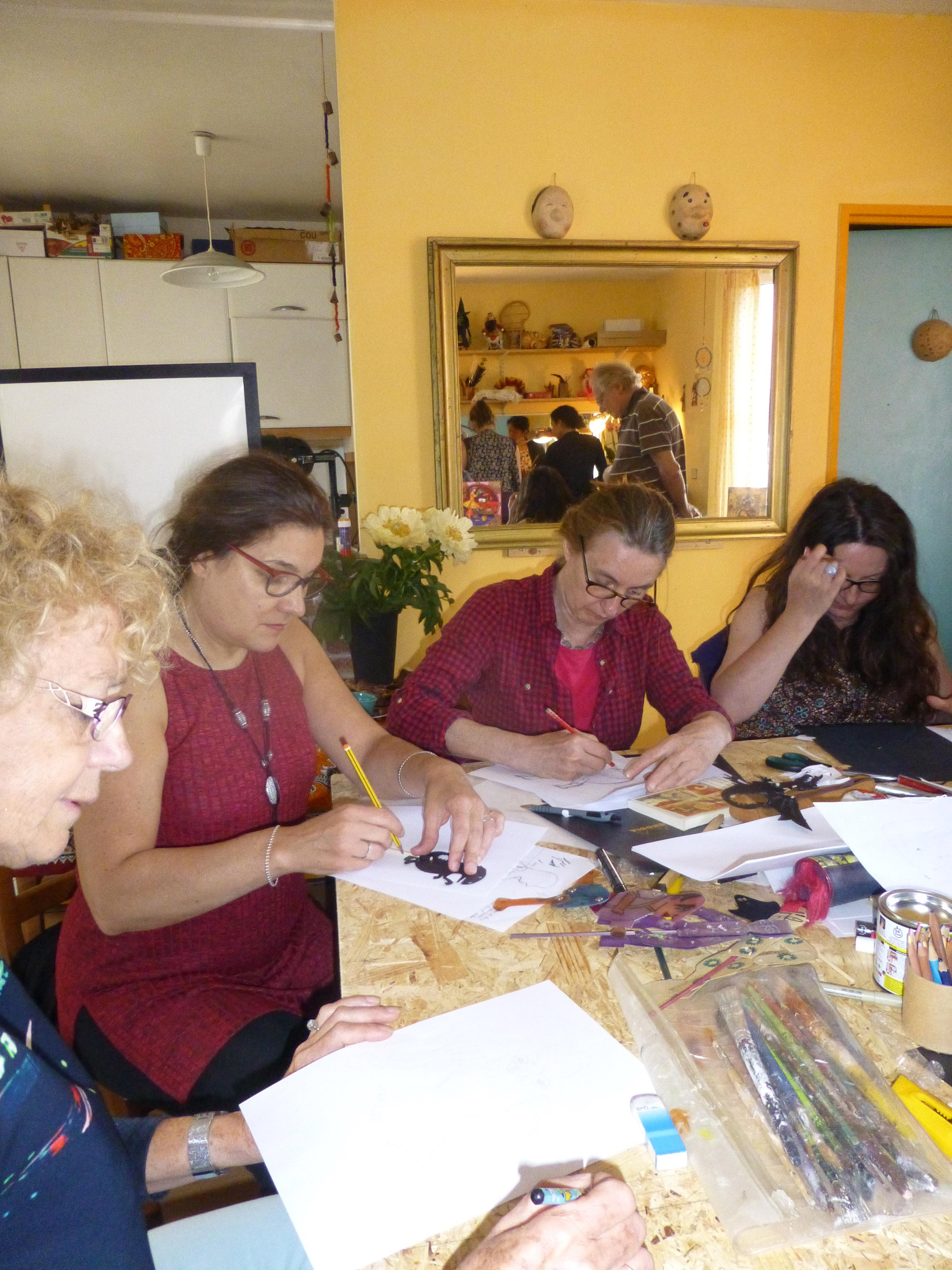 Atelier Madeleine et Serges Lions 4