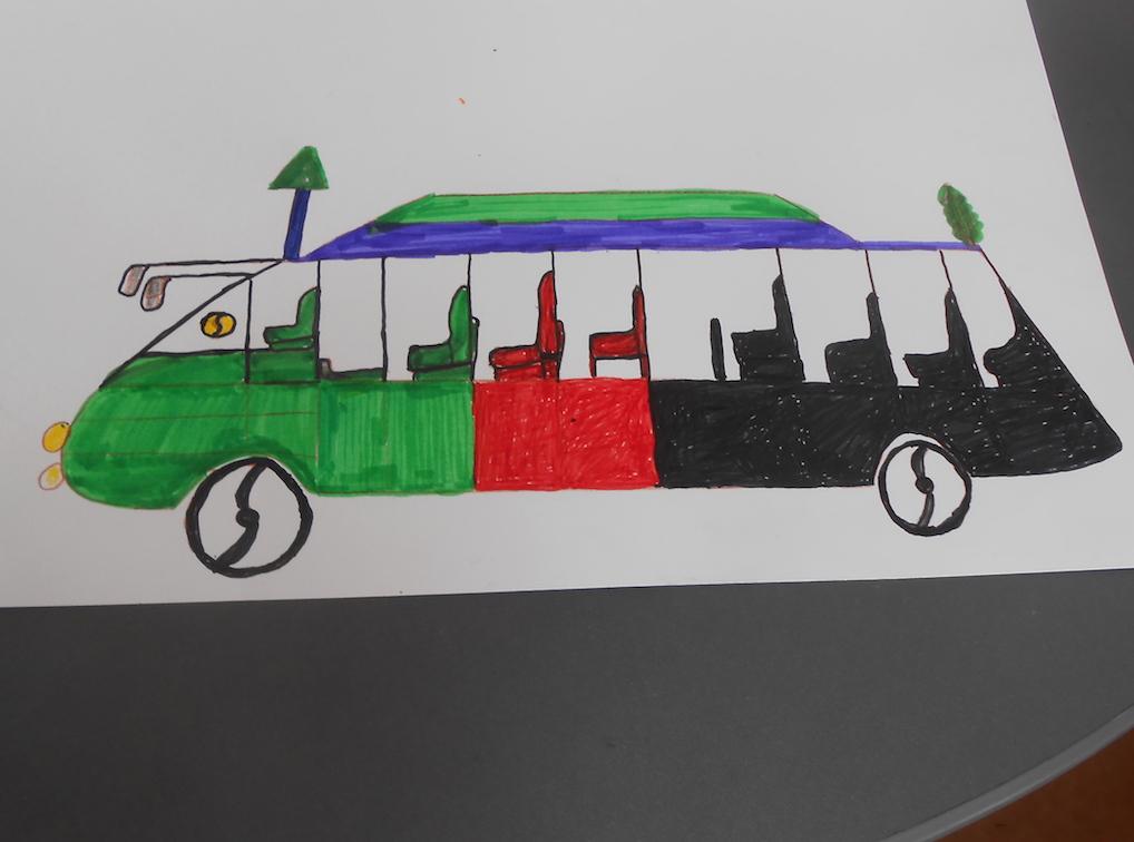 Khan Wares dessine un autobus 3