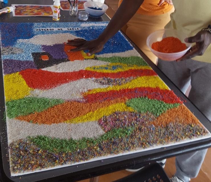 21 Paysage de sable composition tel.