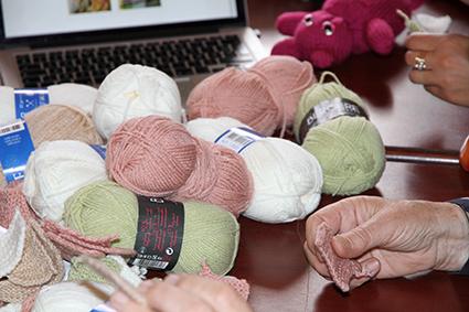 La laine tricot-mosaïque 2