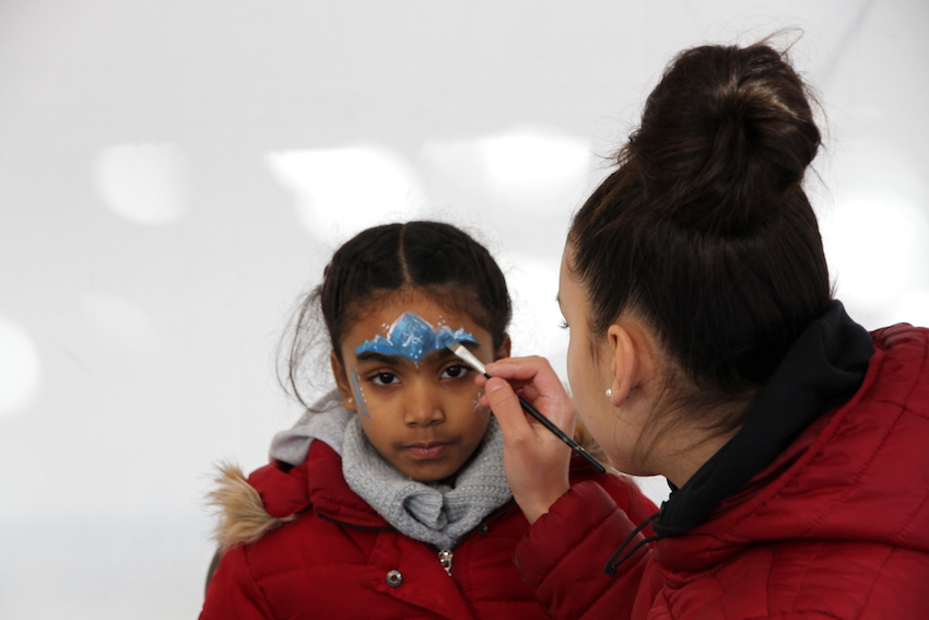 Yasmine 2 au maquillage