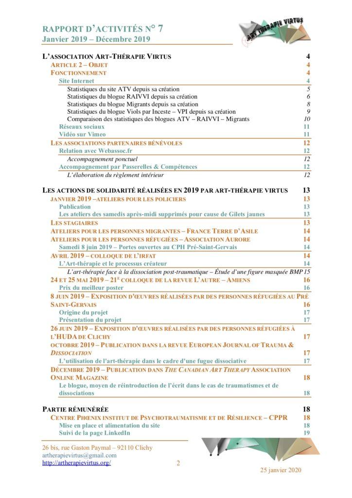 Tdm Rapport d'activités 2019 p.2