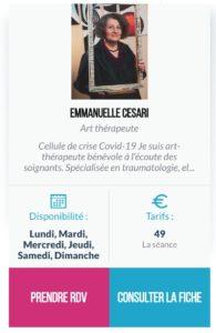 Fiche Emmanuelle Cesari