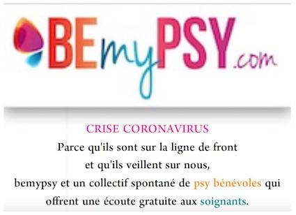 BEmyPSY.com – Trouver son psy ou son art-thérapeute en ligne