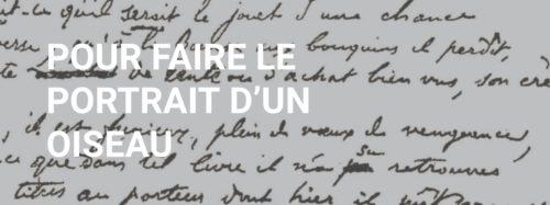 Jacques Prévert : Pour faire le portrait d'un oiseau (1945)