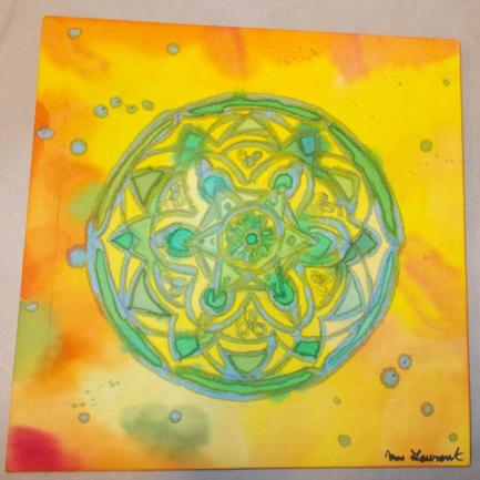 Peinture sur soi 7