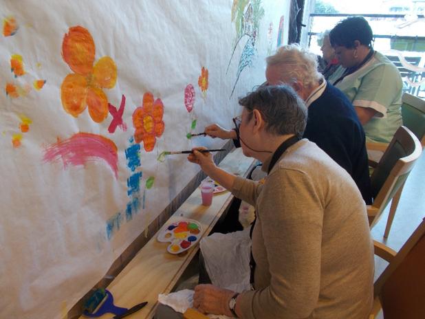 Fresque murale collective 2