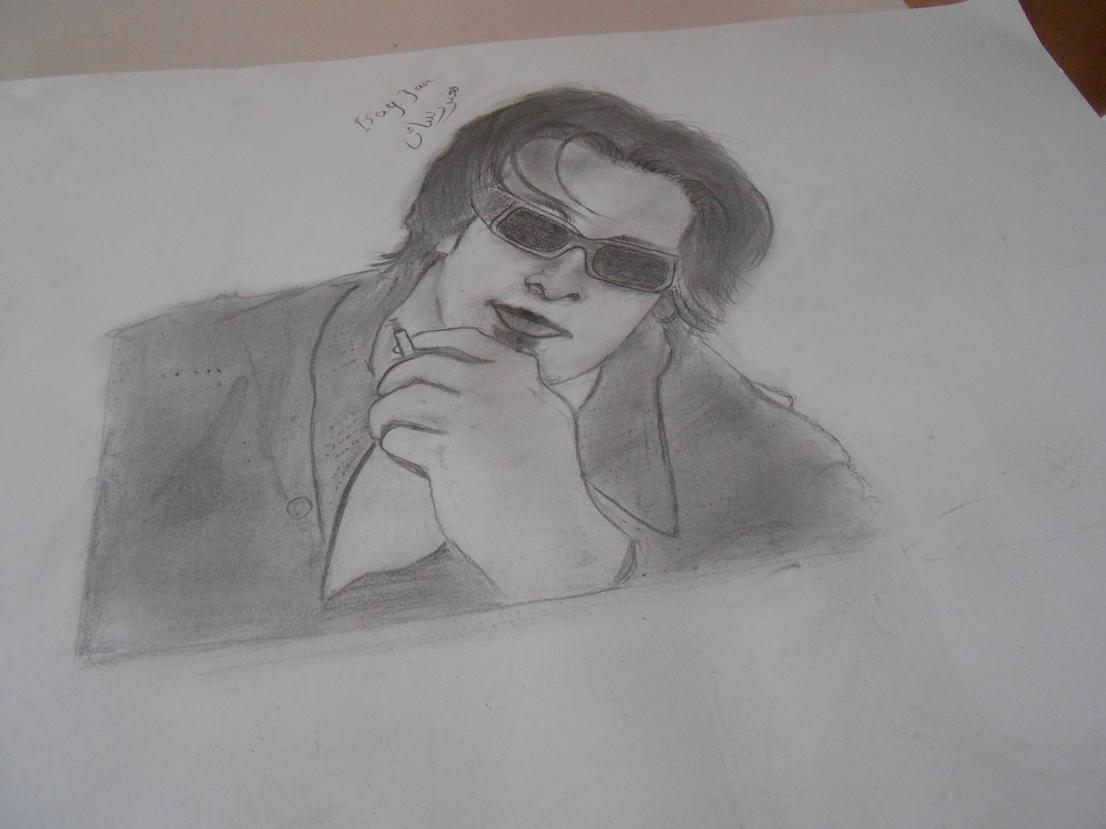 Yasser homme à la cigarette