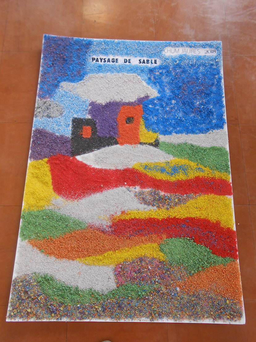 18 Paysage de sable composition 1